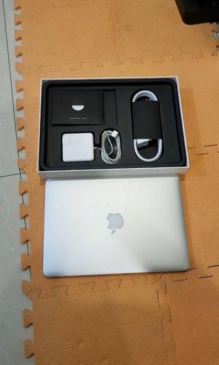 2015款 Macbook Pro Retina 13吋 8G/512G 機身全新無傷