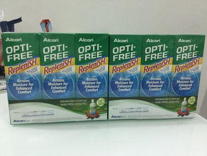Alcon Optifree Replenish 300ml x 3
