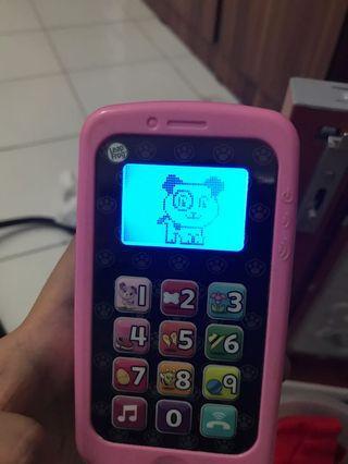 Fisher price handphone