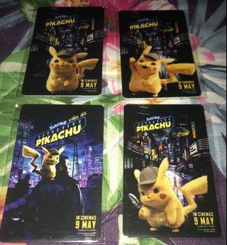 Pikachu Detective ez link card without folder