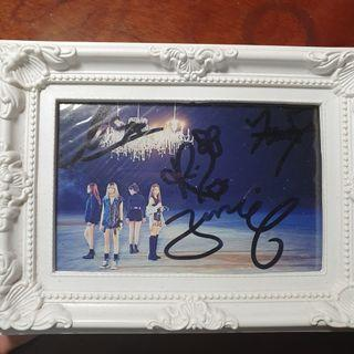 Signed Blackpink Square Two Photo