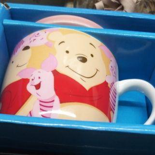 Disneyland Winnie the pooh 玻璃杯