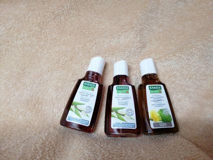 Rausch 洗髮水 每支 40ml 3支$20