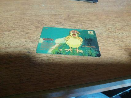 🚚 Pokemon Singtel Phone Card