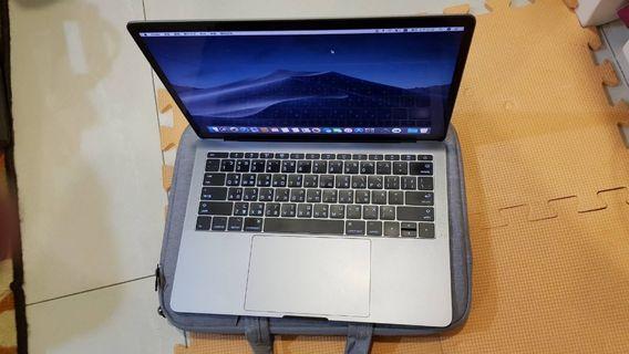 2016 Macbook Pro 13吋 8G/256G 太空灰 無TB 整機9成5新 循環低