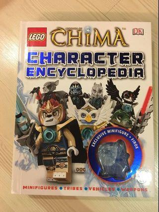 Lego Chima Encyclopaedia (90% new) ( Great way to spend your summer)