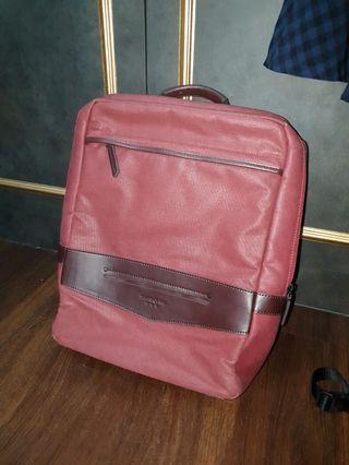 Samsonite red laptop back pack
