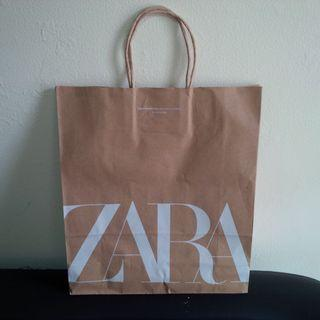 Zara Paperbag PRELOVED like NEW
