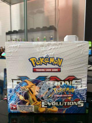 Pokemon Evolutions Sealed Booster Box XY