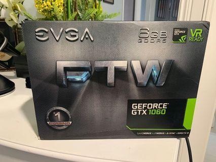 EVGA 1060 6gb FTW OC EDITION