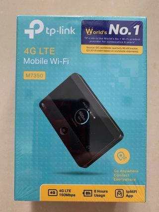 TP link 4G M7350 Mobile Wi Fi