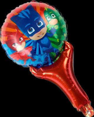 BN pj mask party theme hand held balloons