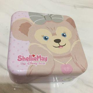 香港迪士尼 雪莉玫 收藏鐵盒 hong kong disney shelliemay tint box