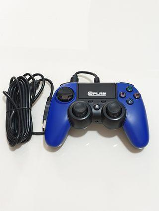 @Play Officially Licensed PS4 Wired Controller - Blue