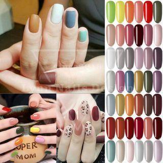 【Lynn Nails Design】摩登復古色系 若夏紫薇色 宮廷光療膠 - 美駝色光療指甲油 甲油膠42色全