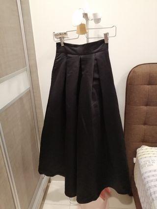 MAG black long skirt