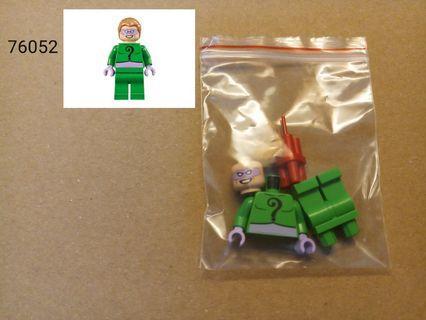 全新未砌 Lego 76052 DC Universe Super Heroes - Riddler人仔 1隻