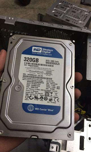320GB Hard disk internal
