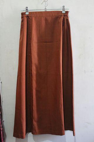 #maudandan Vintage brown skirt
