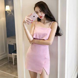 🚚 Midi Cute Korean Dress