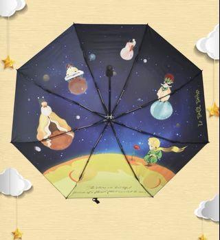 小王子雨傘 (外面黑膠,超遮光)