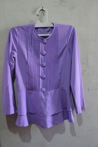 #maudandan Blouse purple