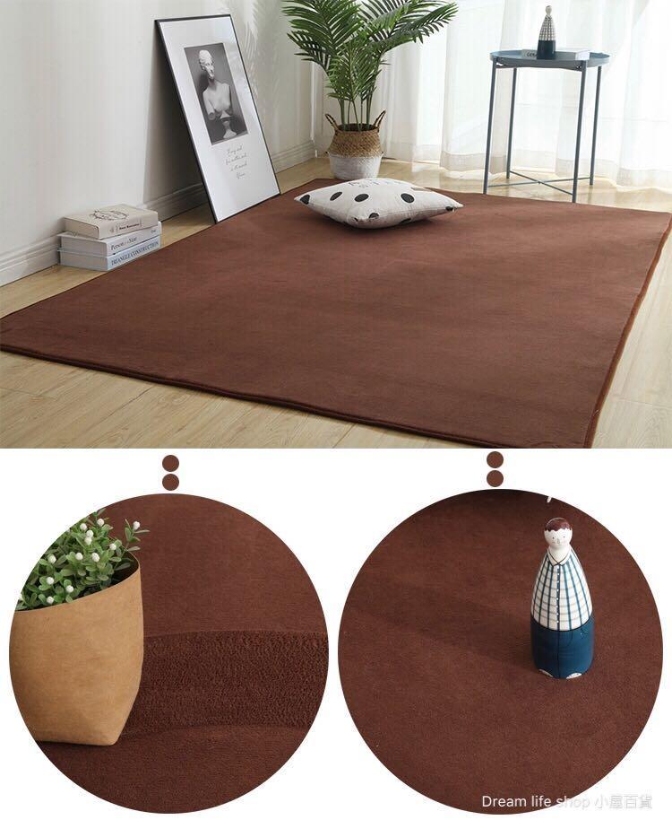 珊瑚絨地墊 大地毯