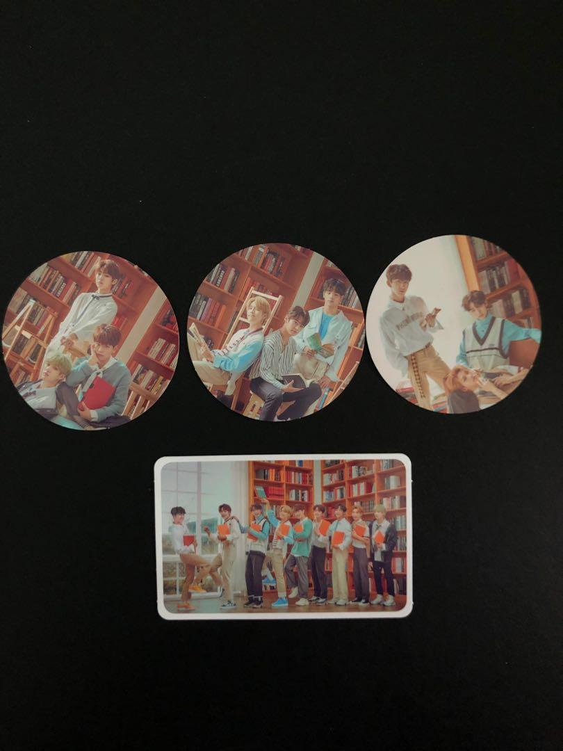 [ WTS ] Stray Kids Unveil Op.03 Random Envelope - Photocard and Stickers