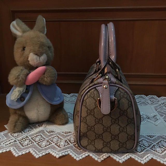 Authentic Gucci GG Supreme Mini Handbag