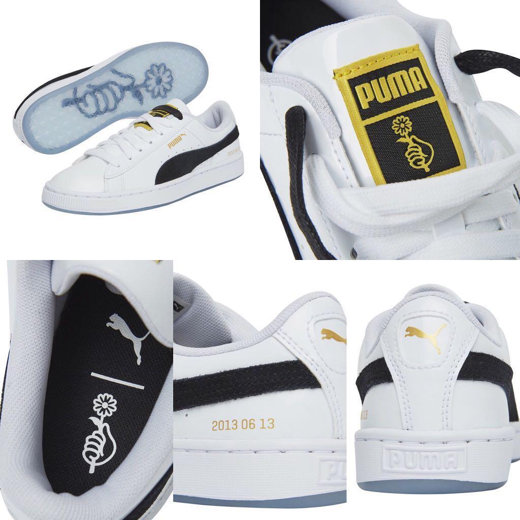 BTS Puma Basket Patent Sneakers Shoes