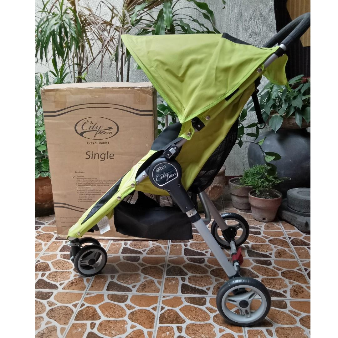 City Micro By Baby Jogger Micro Single Stroller On Carousell
