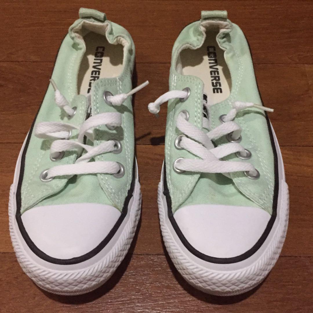 Converse Mint Green Sneakers, Women's