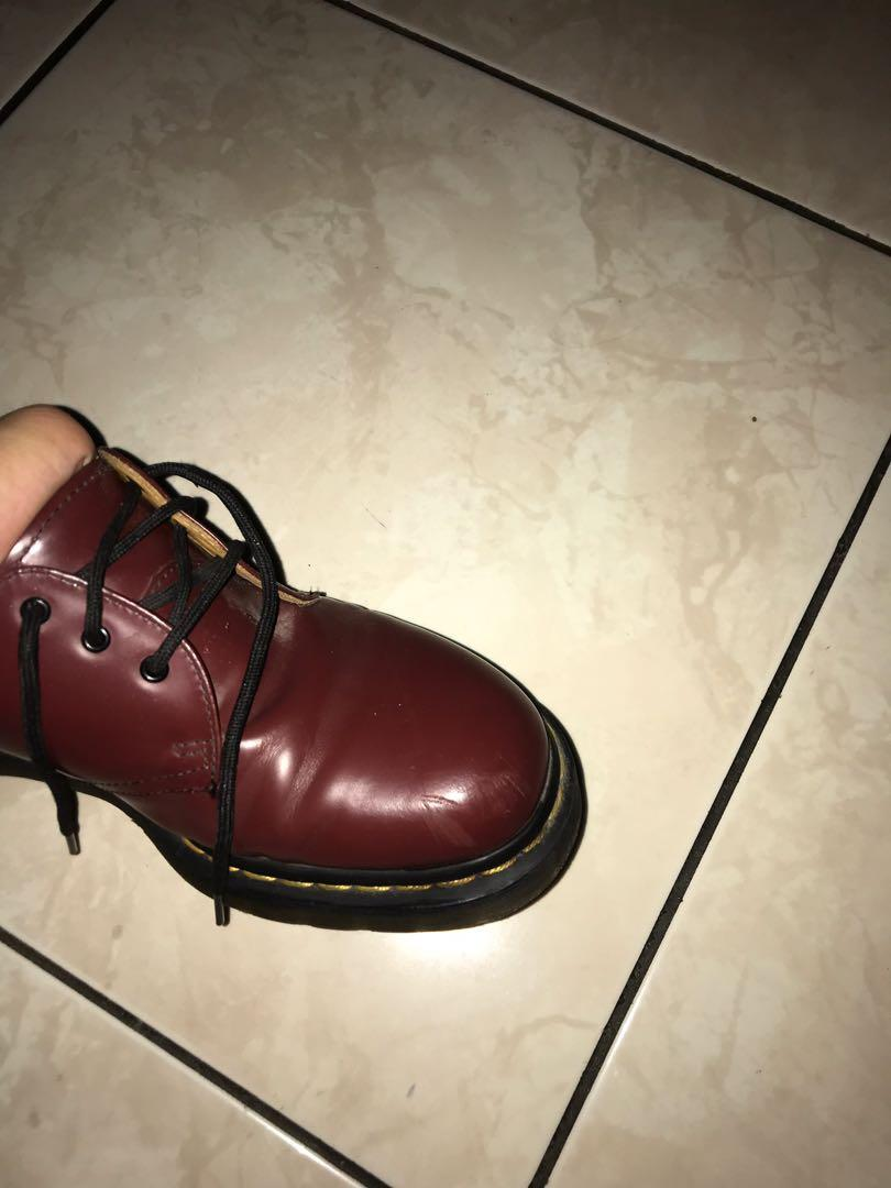 Dr martens classic 1461 59 cherry red