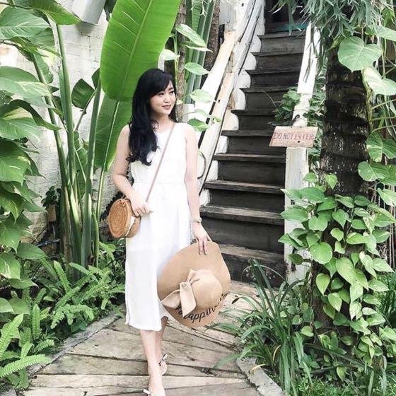 Eclair Collection - Slip Dress in White (NEW)