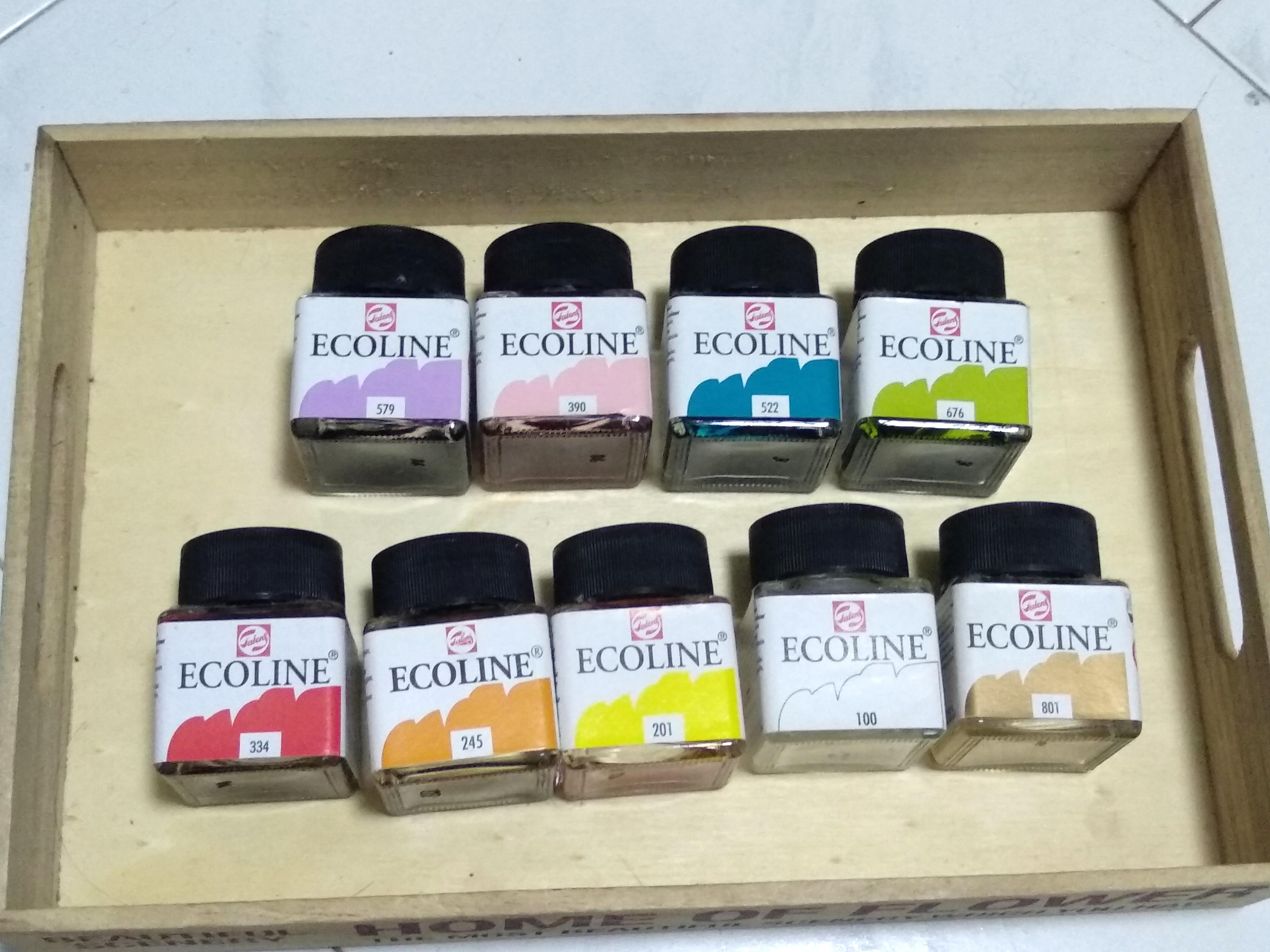 Ecoline liquid watercolour ink set