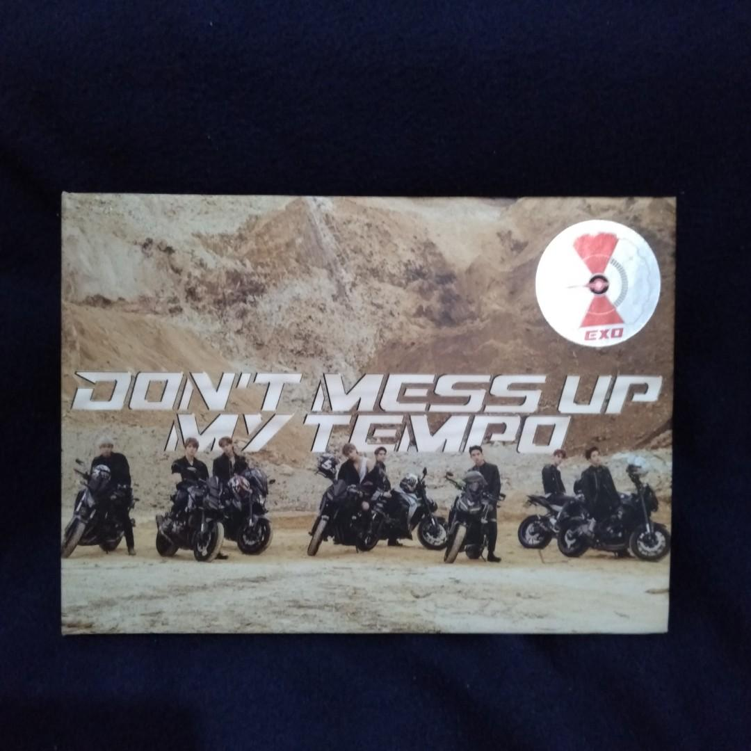 Exo album dont mess up my tempo