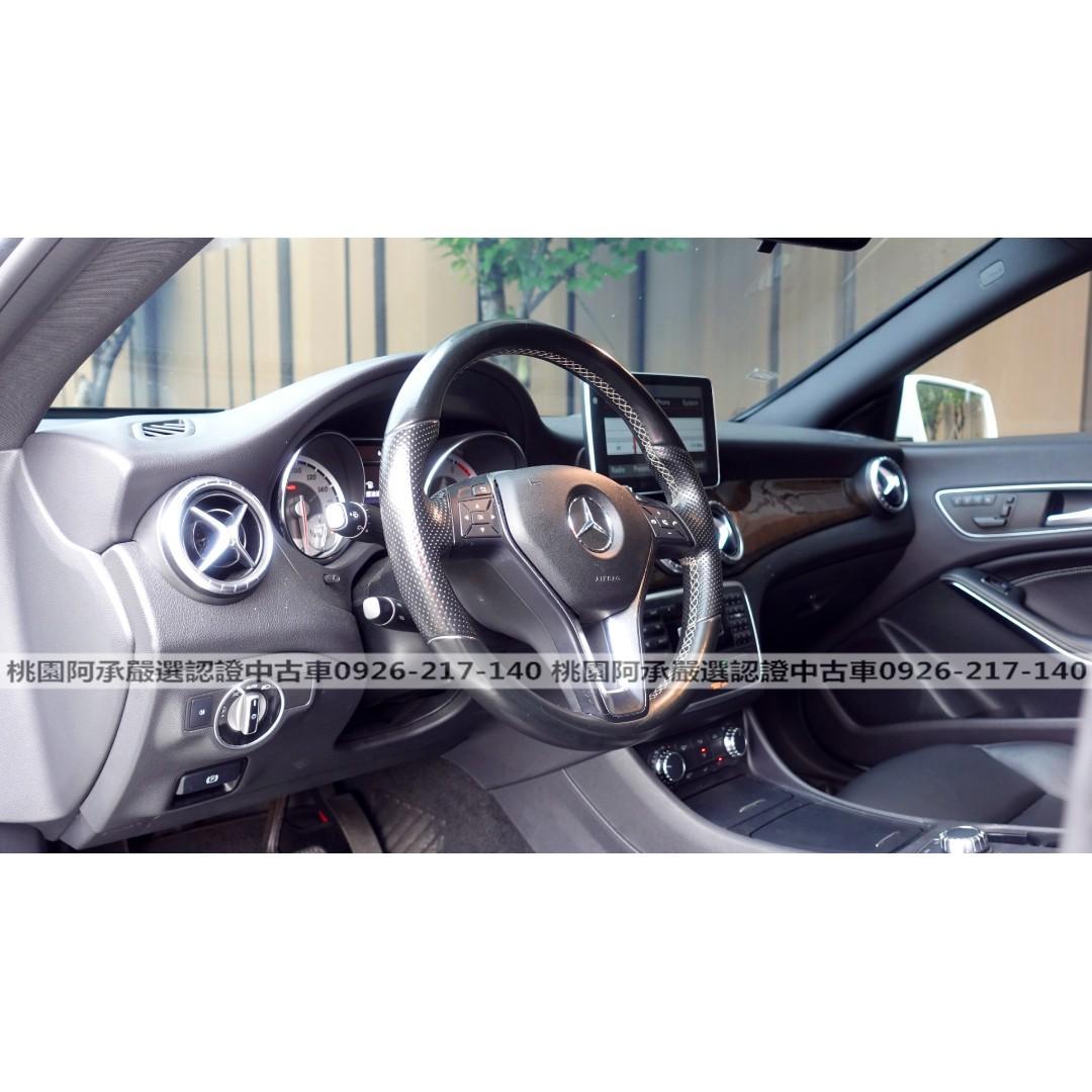 【FB搜尋桃園阿承】賓士 超人氣CLA250 AMG 2014年 2.0 白色 二手車 中古車
