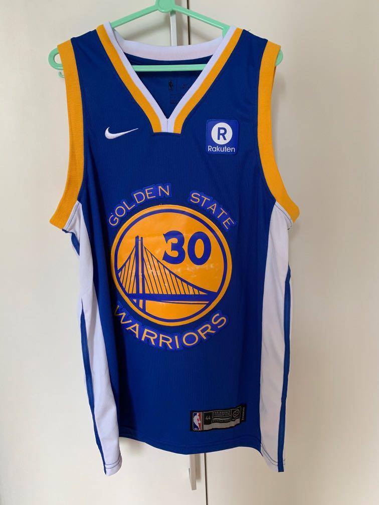 cheaper 45feb 87810 Golden State Warriors NBA Basketball Jersey Sz 44 Stephen ...