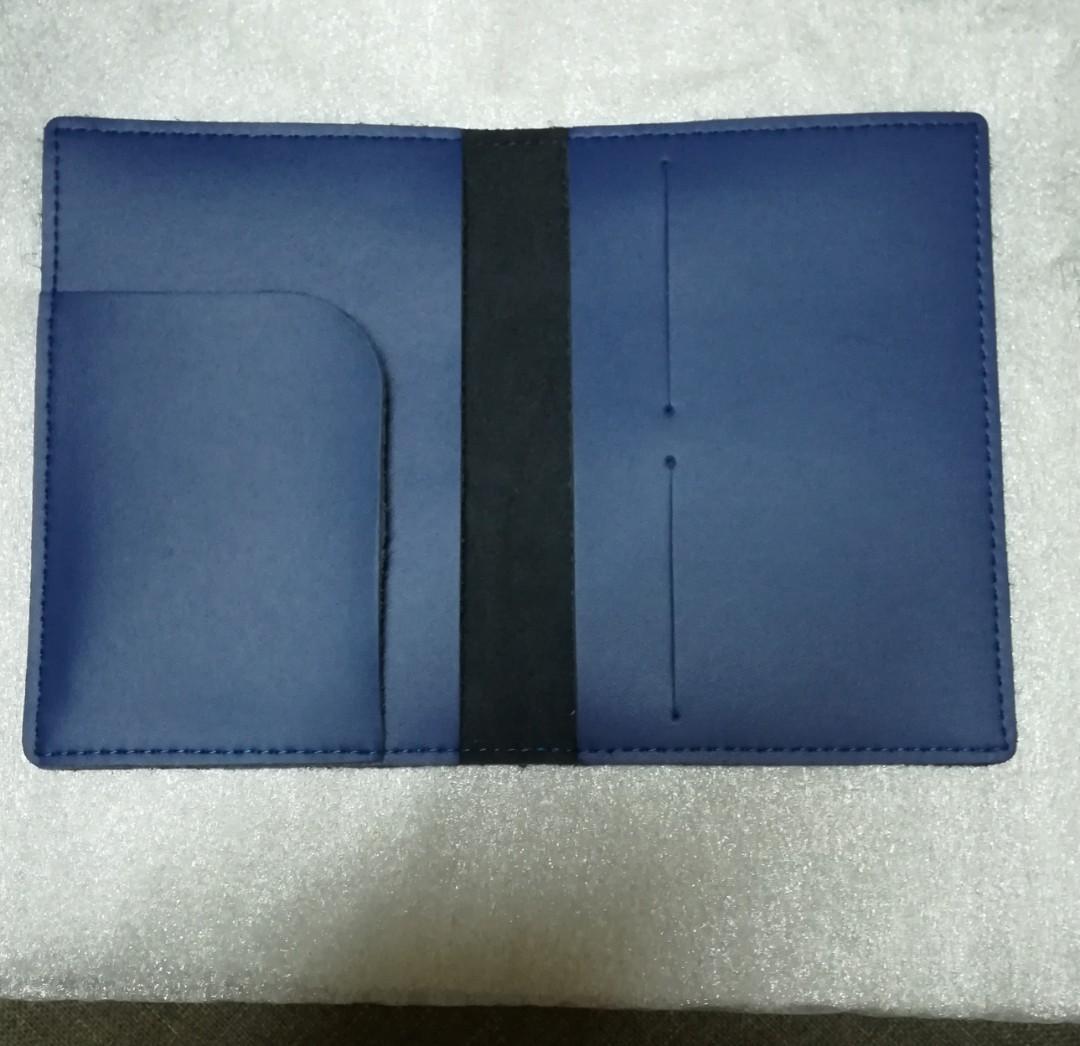 Handmade Genuine Cow Leather Passport Cover