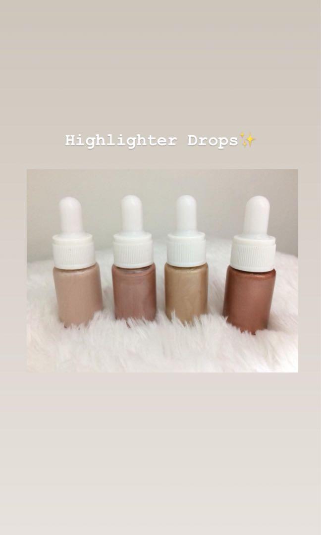 Highlighter drops - liquid highlighter