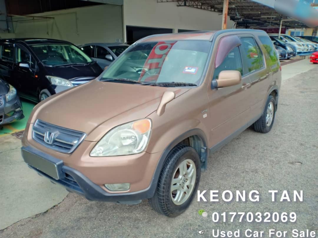 HONDA CRV 2.0AT AWD 2003TH JUAL CASH SHJ Rm18,500 Cash💰OfferPrice!!