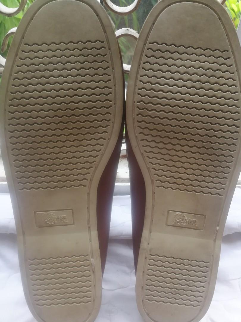 ISLAND SURF Leather Boat Shoes/ Loafer 12uk.