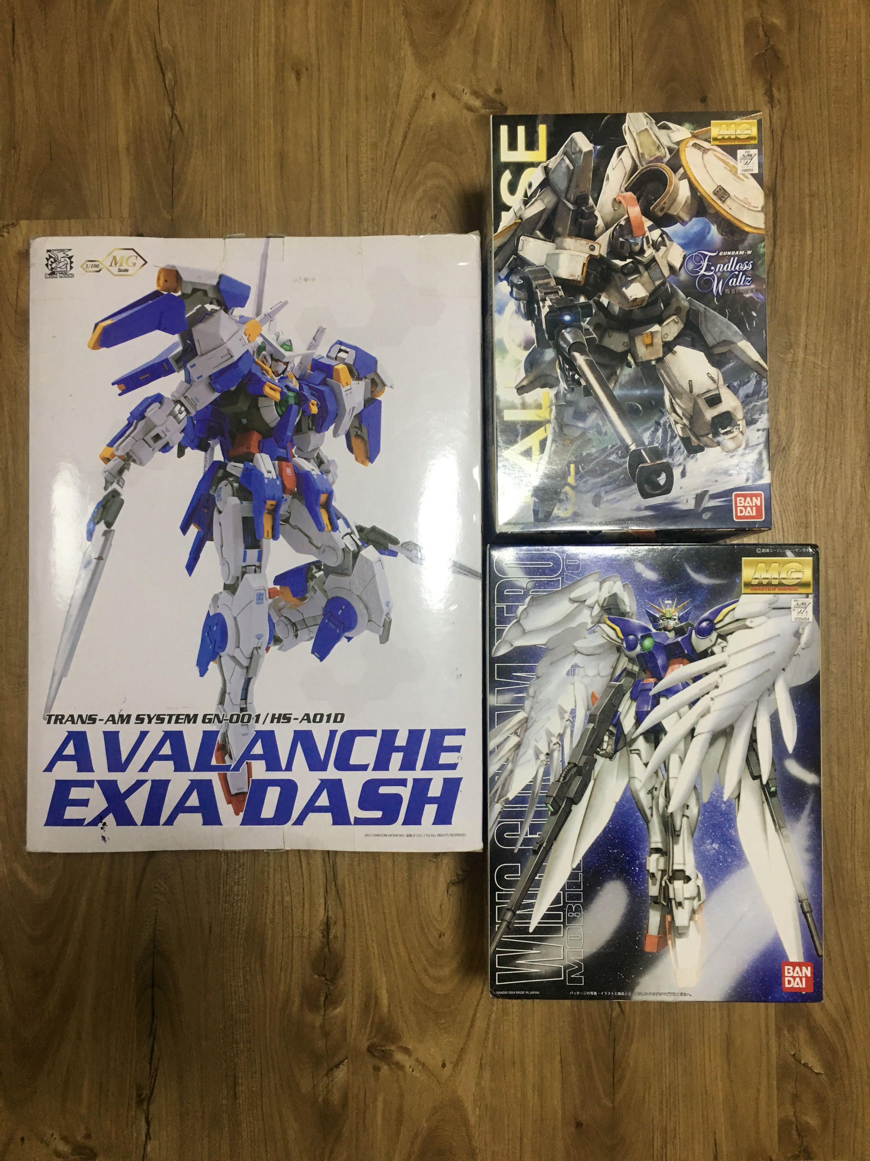 [RUSH] Master Grade (MG) Gundam For Sale