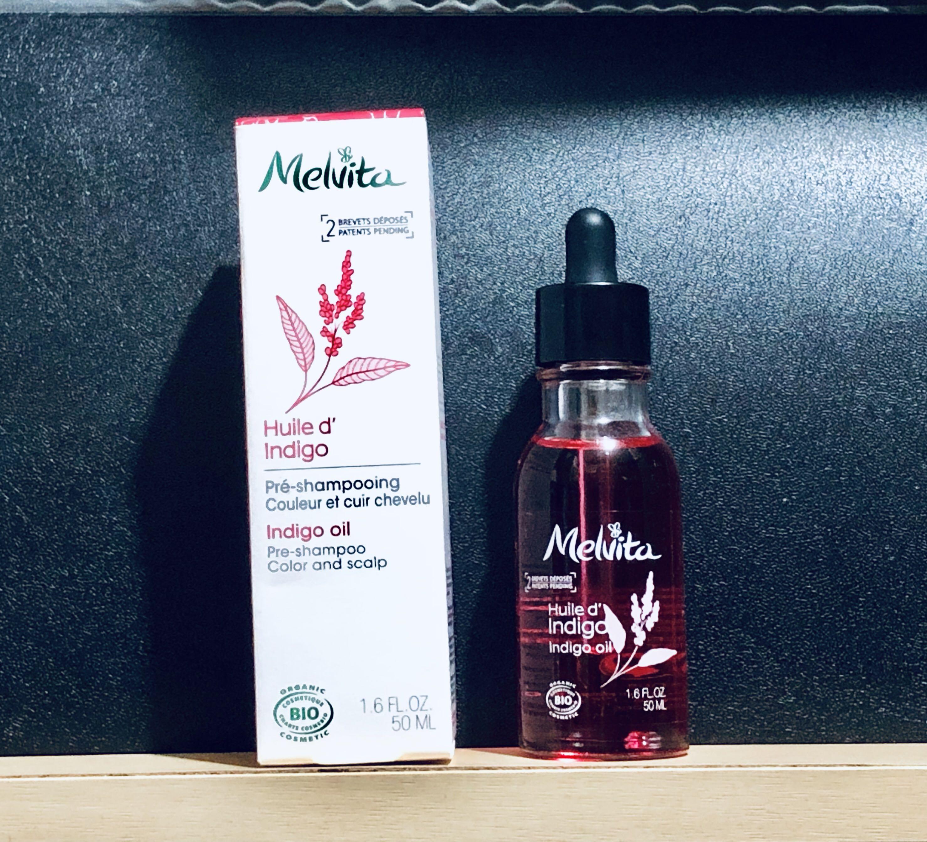 Melvita Indigo Oil 有機頭皮淨化護色精華油