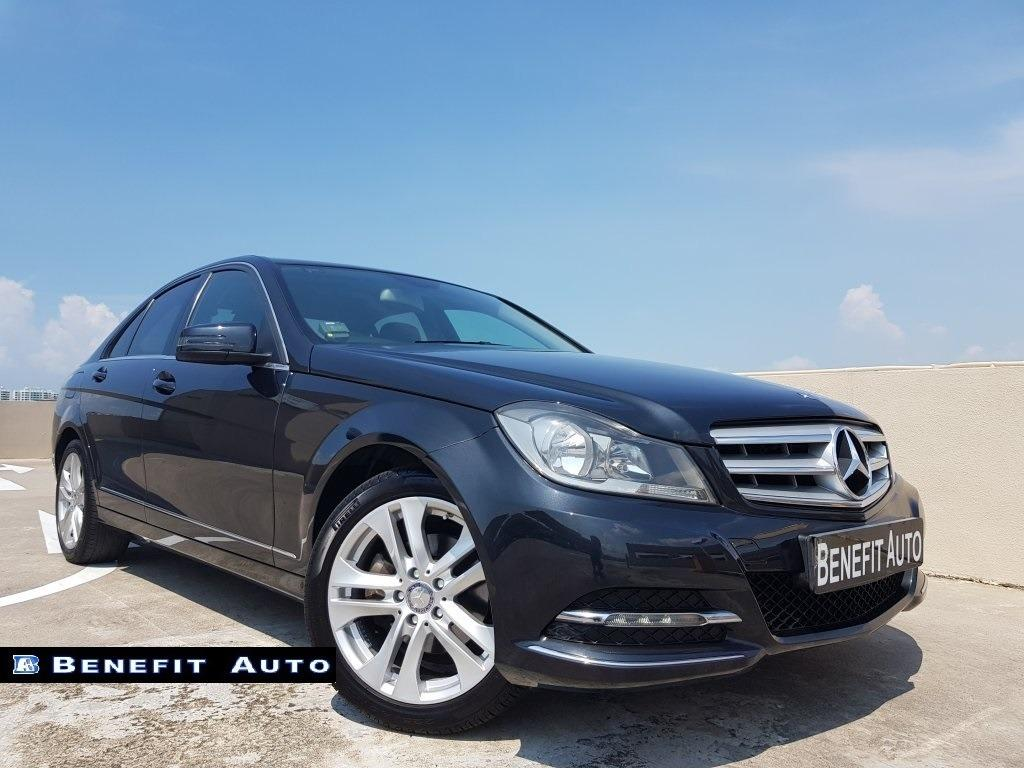 Mercedes-Benz C180 CGI BlueEfficiency 7G-Tronic Auto