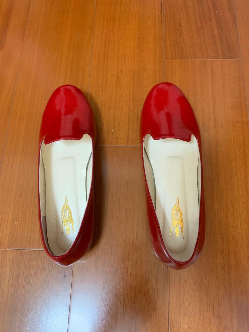 Mini shoes 台製手工鞋真皮高質感歐美簡約無印風格圓頭樂福鞋