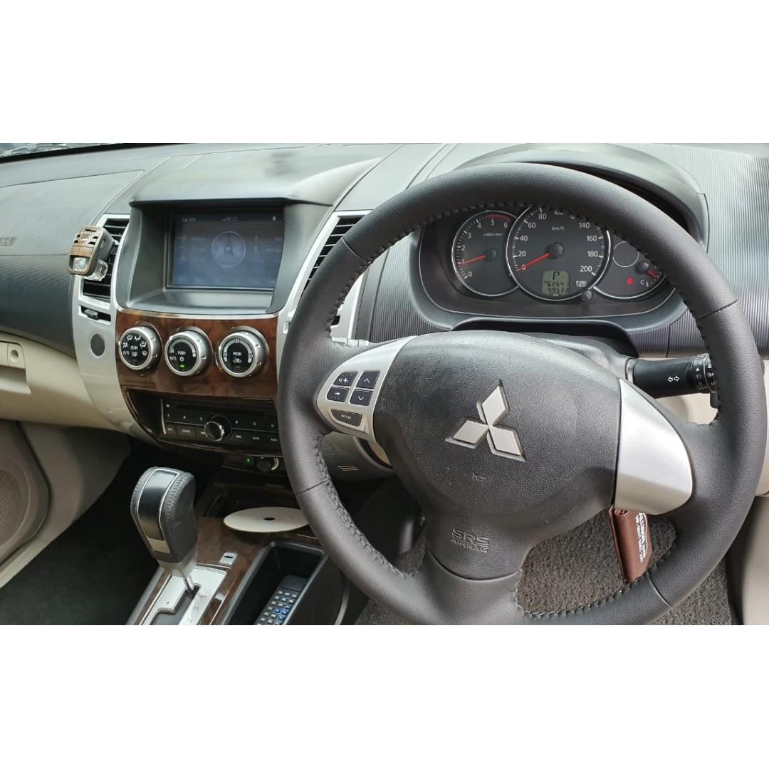 Mitsubishi Pajero Sport Exceed AT Diesel 2012 Putih, Pajak Baru No Pol Ganjil