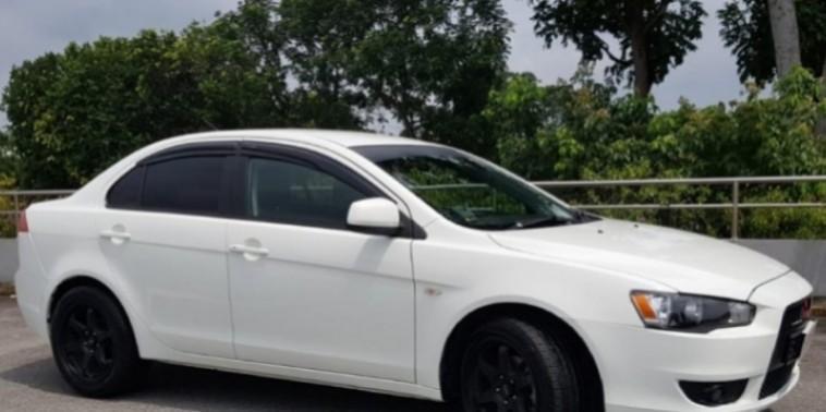 Mitsubishi Lancer EX rental