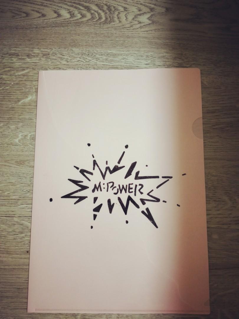 M:POWER PLASTIC FILE ( NEW )