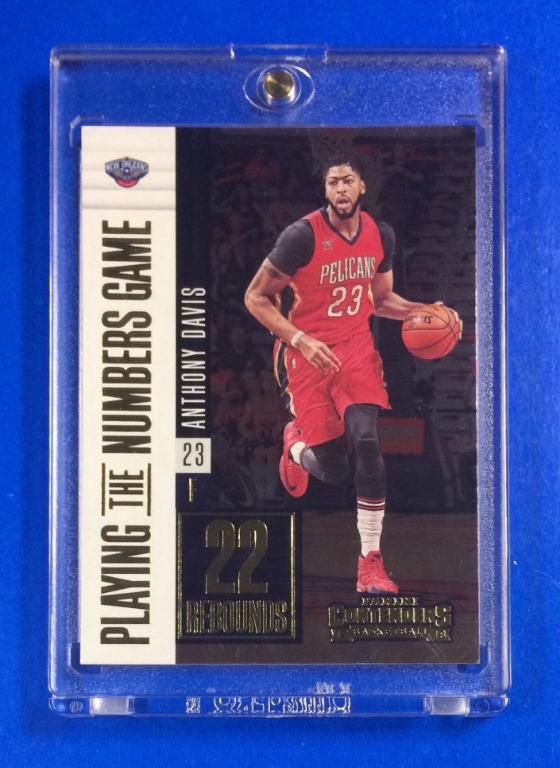Nba Basketball Card Anthony Davis 2017 Pelicans Contenders